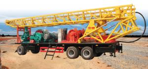 China SPT-600 portable borewell drilling rig for 600m water well or geological hole on sale