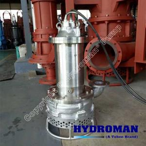 China Hydroman?  Stainless Steel Submersible Slurry Pump on sale