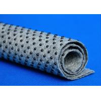Round Dotted Nonwoven Fabric For Carpet , Carpet Felt Underlay eco friendly