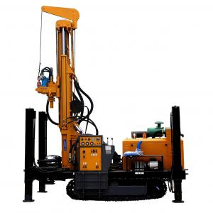 China China hot sale diesel engine driven Small Folded Hydraulic Water Well Drilling Rig on sale