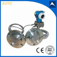 Remote seal diaphragm type pressure level transmitter with capillary