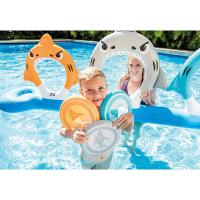 China Inflatable Ring Toss Game Toys For Kids Feed Shark Flying Disc Ring on sale