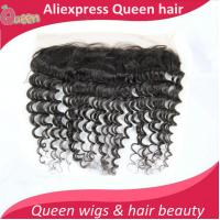 8A virgin Peruvian hair lace frontal closure 13x4 with free shipping body wave human hair ear to ear lace closure