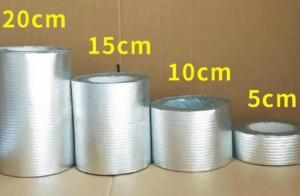 China Moisture Resistant Waterproof Flashing Tape Self Adhesive Aluminium Butyl Tape on sale