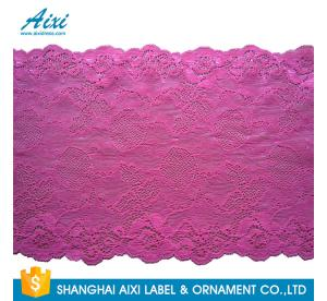 China Nylon Stretch Lace Embroidery Lingerie Lace Fabric For Underwear Dress Garments on sale