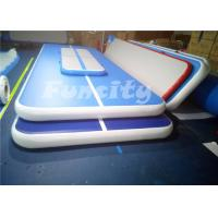 Durable Jumping Inflatable Air Gymnastics Balance Beam With 0.6mm Pvc Tarpaulin