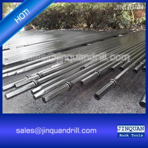 China High quality tapered drill rod - rock drill steel rod manufacturer, Atlas Copco drill rod on sale