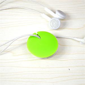 China Round Shaped ABS Magnet Cable Drop Clips Beadphone Wire Manager For Headphone on sale