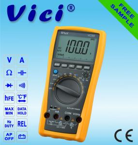 China VICI VC99 analog bar 6000 counts digital multimeter on sale