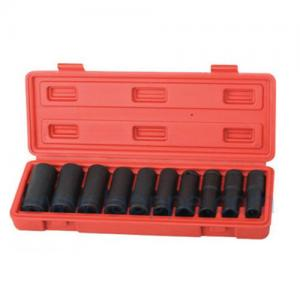 "Quality TSQ10 -10pcs 1/2"" pneumatic Socket Set,Socket Wrench,Garage Tools Set,CR-V for sale"