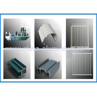 China Colorful Aluminum Window Profile , Aluminium Window Frame Section on sale
