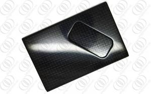 China Black Carbon Fiber Credit Card Holder Anti-corrosion With Glossy Finish on sale