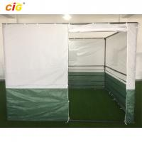 White Green 3x3 Sukkah Outdoor Tent Outdoor Furnitures With Powder Coating Steel