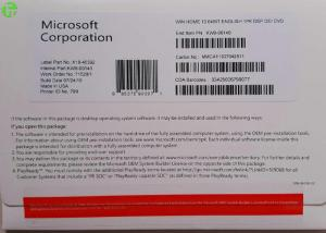 Quality MS Office Windows OEM Software 64 Bit / 32 Bit Operating System , Win 10 Pro for sale