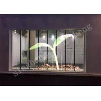 China Quick Installation Transparent Led Video Wall , Led Glass Wall See Through on sale