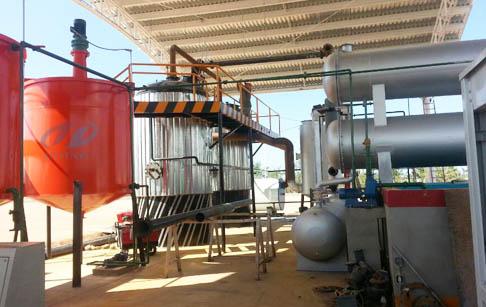 waste oil to diesel