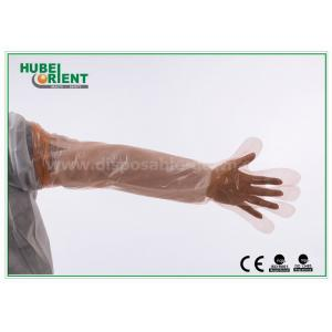 China LDPE Disposable Plastic Arm Sleeves For Slaughtering / Food Processing , Eco - Friendly on sale