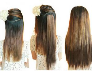 China 14-28  Long Lasting Synthetic Hair Extensions Weft Soft Tangle Shed Free on sale