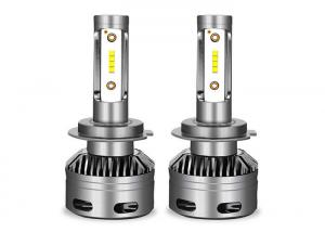 China IP68 Waterproof LED Car Headlight Bulbs Mini Fan Design 12V 24V 6000 - 6500K on sale
