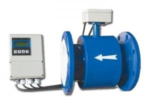 China Flanged Electromagnetic Flow Meters For Conductive Liquids In Pipe on sale