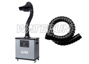 China Single arm portable fume extraction systems welding fume filter low Noise on sale