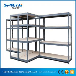 China Industrial storage garage library used metal boltless shelving unit rack on sale