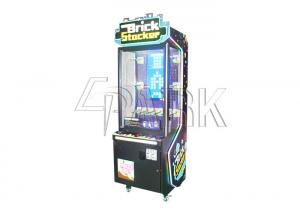 China brick stacker video gift game EPARK coin operated tetris vending machine for sale on sale