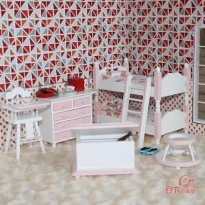 China 1:12 scale dollhouse miniature ,dollhouse furniture children's room (JJ015) on sale