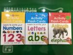 Preschool Toddler Educational Flash Cards Paper Dry Eraser Memory Learning
