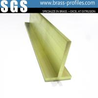 Custom Metal Brass Extruding T Window Sections Copper Tee  Profiles