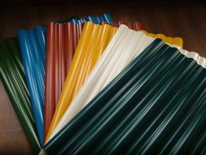 China Durable red White Tile Galvalume Steel Roofing Sheets For House roofing materials on sale