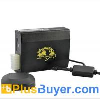 Portable Real-Time Car GPS Tracker (Dual-SIM, Quadband, Geo-Fence, SMS Alarm)