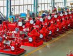 Large Capacity Ul Listed Fire Pumps / Bronze Fire Fighting Diesel Pump