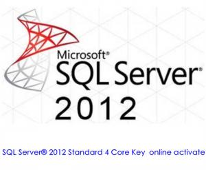 China Windows 2012 Server Product Key For Microsoft Sql Server 2012 Standard Core Edition on sale
