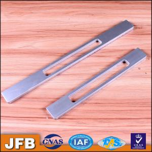 China Cabinet hardware aluminum alloy drawer handles 160MM/192MM/320MM matte silver cabinet handle on sale