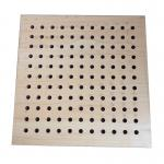 Sound Insulation Perforated Wood Acoustic Panels Wall Boards Indoor