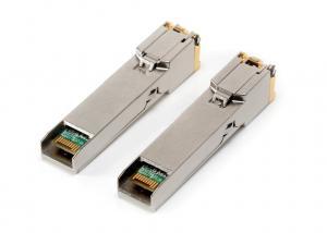 China 1000Mbps XBR-000190 RJ45 SFP Optical Transceiver For Gigabit Ethernet on sale