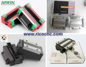 China O trilho de guia linear obstrui transportes da gaiola para o Guideway linear do router do CNC on sale