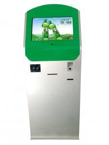 China Lobby Self Service Kiosk RFID Card Reader Display 22 Inch Touch Screen Kiosk on sale