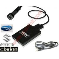 Subaru Mcintosh Clarion USB SD AUX MP3 Interface Adapter (YATOUR Car Digital CD Changer)