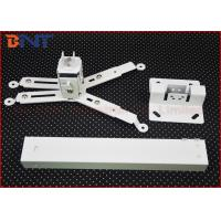 Cold Rolled Steel Retractable Projector Ceiling Mount Kit With 2 Feet Extension Length