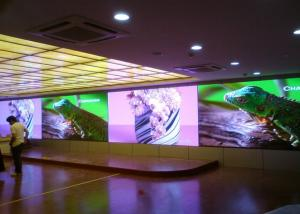 China P3 Indoor Led Video Wall Screen High Resolution With Front Service on sale