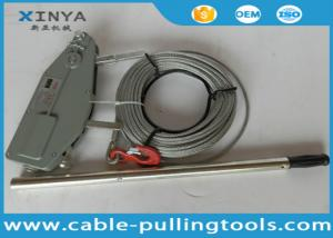 China Hand Hoist Cable Puller Winch Cable Pulling Tools With 20 meter Wire Rope on sale