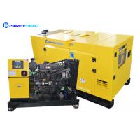 Silent Generator Set FAWDE Diesel Engine 12kw 16kw 20kw 24kw Generating With ATS