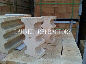 China Special Shape Refractory High Alumina Clay Bricks For Fireplace / linings on sale