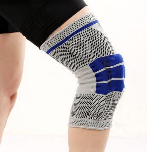 China Silicone Knee Pads/High Quality Orthopedic Hinged knee Support on sale