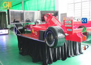 China AC 220 V Coin Operated Game Machine F1 Car Simulator High End Performance on sale