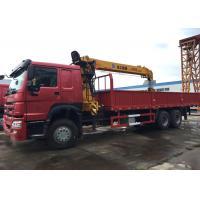 10 Wheels 10T Mobile Crane Truck , Crane Lift Truck High Capacity For Construction
