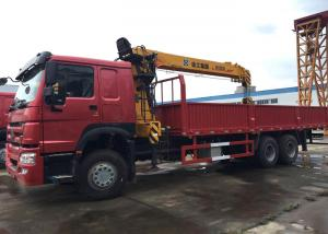 China 10 Wheels 10T Mobile Crane Truck , Crane Lift Truck High Capacity For Construction on sale