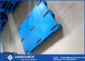 Standard Size Rackable Plastic Pallets , Heavy Duty Single